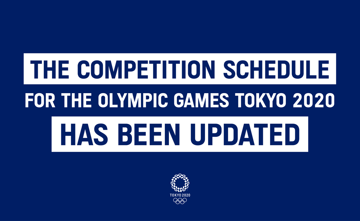 The Competition Schedule